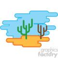 desert nature icon