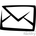 envelope mail vector flat icon