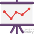 chart vector flat icon