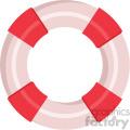 lifesaver vector flat icon