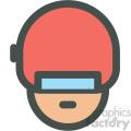 cyborg avatar vector icons
