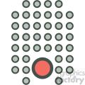 data mining vector icon