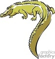 alligator alligators anmls001c clip art animals croc crocodile crocs  gif, jpg, eps