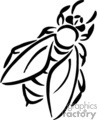 bug bugs insects insect bee bees   anmls007b_bw clip art animals  gif