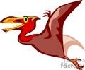 flying pterodactyl