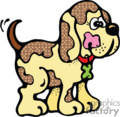 country style dog dogs puppy puppies   dog002pr_c clip art animals dogs  gif, eps