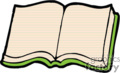 country style book books education school   reading006pr_c clip art education books  gif, eps