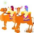 cartoon camels