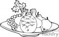 Spel267_bw vector clip art image