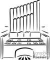 christian religion religious organ church piano lds   christian_ss_bw_169 clip art religion christian  gif