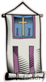 church flag gif