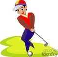 golf golfer golfers golfing   1004golf006 clip art sports golf  gif, jpg
