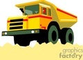 truck trucks autos vehicles heavy equipment dump   transportb056 clip art transportation land  gif, jpg
