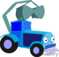 heavy equipment construction truck trucks tractor tractors loader front   transport_04_081 clip art transportation land  gif