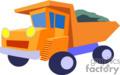 heavy equipment construction truck trucks dump   transport_04_091 clip art transportation land  gif