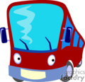 cartoon bus gif