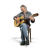 artist male guitarist guitar acoustic playing sitting singing song singer performance performer musician concert   3a1002lowres photos people