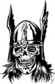 zombie spartan skull