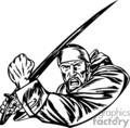 pirate pirates villain raider pillager vinyl-ready vinyl ready vector clip art black white