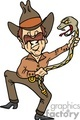 cowboy dancing with snake gif, png, jpg, eps