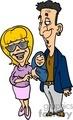 Happy Couple Now Proud Parents