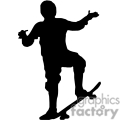 kid on a skateboard