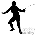 people shadow shadows silhouette silhouettes black white vinyl ready vinyl-ready cutter action vector eps png jpg gif clipart sports fencing sword fighting gif, png, jpg, eps