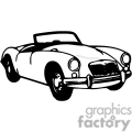 transportation vector vinyl-ready viny ready cutter clipart clip art eps jpg gif images black white car cars convertible convertibles auto automobile automobiles gif, png, jpg, eps