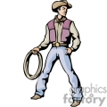 western cowboy cowboys vector wild west roper ropers lasso man guy gif, png, jpg, eps