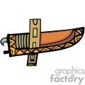 indian indians native americans western navajo knife knifes case holster vector eps jpg png clipart people gif gif, png, jpg, eps