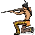 indian indians native americans western navajo aim aiming vector eps jpg png clipart people gif