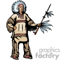 indian indians native americans western navajo chief chiefs vector eps jpg png clipart people gif