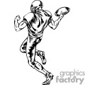 football player celebrating a touchdown gif, png, jpg, eps