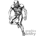 football player watching the play gif, png, jpg, eps