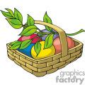 basket of food gif, png, jpg, eps