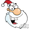 2332-Royalty-Free-Cartoon-Santa-Claus-Head