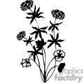 75-flowers-bw