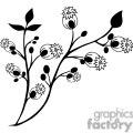 85-flowers-bw