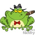 Cartoon-Frog-Mobster-With-A-Hat-And-Cigar