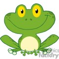 Cartoon-Cute-Frog-Character