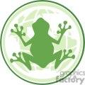 Cartoon-Frog-In-Earth-Logo