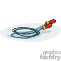 Cartoon jump rope