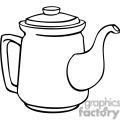teapot outline