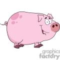 cartoon farm pig