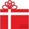 red christmas gift gif, png, jpg, eps, svg, pdf
