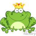 102512-Cartoon-Clipart-Frog-Prince-Cartoon-Character