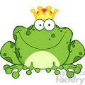 102512-Cartoon-Clipart-Frog-Prince-Cartoon-Character