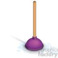 purple plunger
