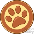Royalty-Free-RF-Copyright-Safe-Brown-Paw-Print-Banner