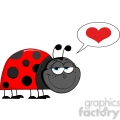 Royalty-Free-RF-Copyright-Safe-Happy-Ladybug-With-Speech-Bubble